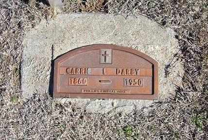 DARBY, CARRIE - Stevens County, Kansas | CARRIE DARBY - Kansas Gravestone Photos