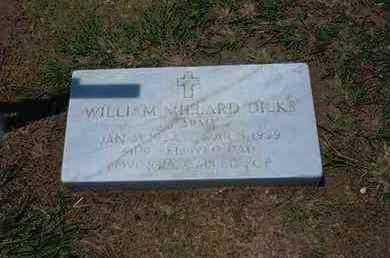 DILKS, WILLIAM MILLARD   (VETERAN) - Stevens County, Kansas | WILLIAM MILLARD   (VETERAN) DILKS - Kansas Gravestone Photos