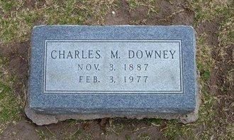 DOWNEY, CHARLES M - Stevens County, Kansas   CHARLES M DOWNEY - Kansas Gravestone Photos