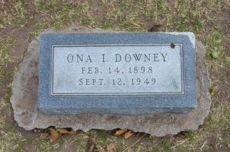 DOWNEY, ONA IMOGENE - Stevens County, Kansas | ONA IMOGENE DOWNEY - Kansas Gravestone Photos