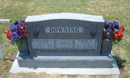 DOWNING, COLEMAN E - Stevens County, Kansas | COLEMAN E DOWNING - Kansas Gravestone Photos