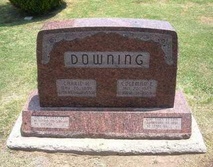 DOWNING, CARRIE H - Stevens County, Kansas   CARRIE H DOWNING - Kansas Gravestone Photos