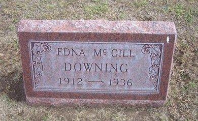 DOWNING, EDNA FERN - Stevens County, Kansas   EDNA FERN DOWNING - Kansas Gravestone Photos