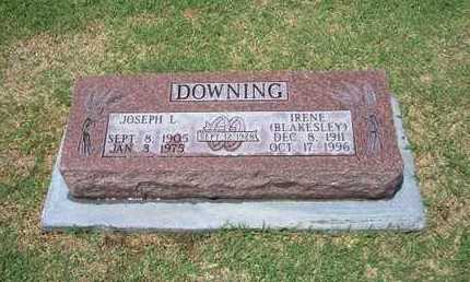 DOWNING, JOSEPH L - Stevens County, Kansas | JOSEPH L DOWNING - Kansas Gravestone Photos