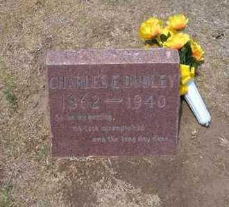 DUDLEY, CHARLES E - Stevens County, Kansas   CHARLES E DUDLEY - Kansas Gravestone Photos