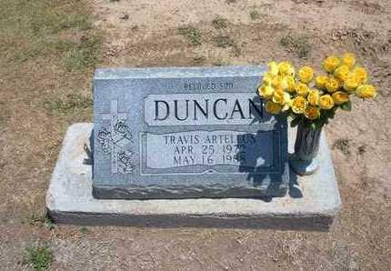 DUNCAN, TRAVIS ARTELLUS - Stevens County, Kansas | TRAVIS ARTELLUS DUNCAN - Kansas Gravestone Photos