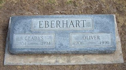 EBERHART, OLIVER - Stevens County, Kansas   OLIVER EBERHART - Kansas Gravestone Photos