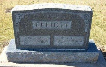 ELLIOTT, WILMOT F - Stevens County, Kansas | WILMOT F ELLIOTT - Kansas Gravestone Photos
