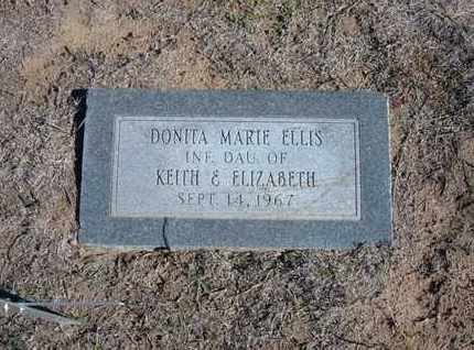 ELLIS, DONITA MARIE - Stevens County, Kansas | DONITA MARIE ELLIS - Kansas Gravestone Photos