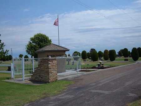 *ENTRANCE GATE,  - Stevens County, Kansas    *ENTRANCE GATE - Kansas Gravestone Photos