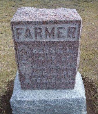 FARMER, BESSIE LELA - Stevens County, Kansas | BESSIE LELA FARMER - Kansas Gravestone Photos