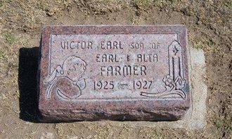 FARMER, VICTOR EARL - Stevens County, Kansas   VICTOR EARL FARMER - Kansas Gravestone Photos
