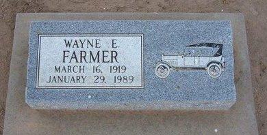 FARMER, WAYNE E - Stevens County, Kansas   WAYNE E FARMER - Kansas Gravestone Photos