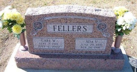 FELLERS, ADA VIVIAN - Stevens County, Kansas | ADA VIVIAN FELLERS - Kansas Gravestone Photos