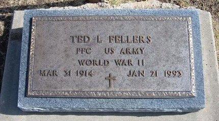 FELLERS, TED L  (VETERAN WWII) - Stevens County, Kansas | TED L  (VETERAN WWII) FELLERS - Kansas Gravestone Photos