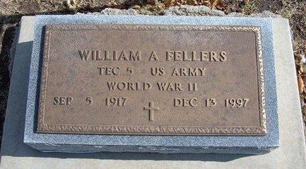 FELLERS, WILLIAM A  (VETERAN WWII) - Stevens County, Kansas | WILLIAM A  (VETERAN WWII) FELLERS - Kansas Gravestone Photos