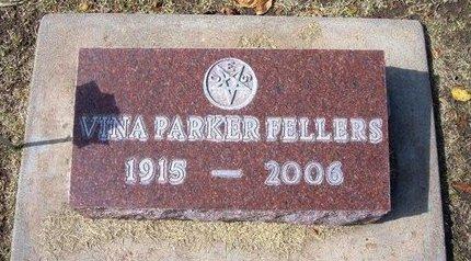 FELLERS, VINA - Stevens County, Kansas | VINA FELLERS - Kansas Gravestone Photos