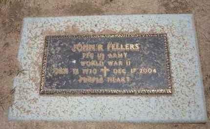 FELLERS, JOHN ROLIN (VETERAN WWII) - Stevens County, Kansas | JOHN ROLIN (VETERAN WWII) FELLERS - Kansas Gravestone Photos