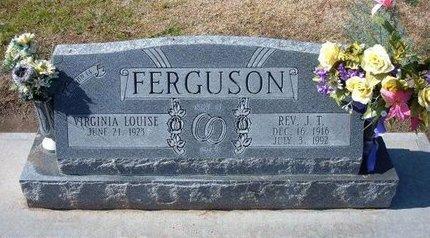 FERGUSON, J T - Stevens County, Kansas | J T FERGUSON - Kansas Gravestone Photos