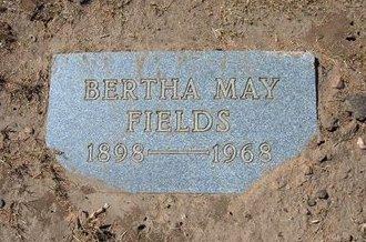 FIELDS, BERTHA MAY - Stevens County, Kansas   BERTHA MAY FIELDS - Kansas Gravestone Photos