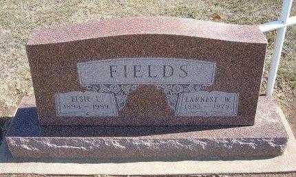 FIELDS, EARNEST WEBSTER   (VETERAN WWI) - Stevens County, Kansas | EARNEST WEBSTER   (VETERAN WWI) FIELDS - Kansas Gravestone Photos