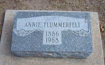 "FLUMMERFELT, ANNA ELDORA ""ANNIE"" - Stevens County, Kansas | ANNA ELDORA ""ANNIE"" FLUMMERFELT - Kansas Gravestone Photos"