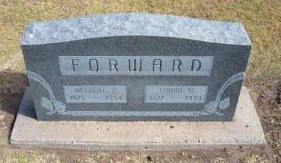 FORWARD, DELBERT FOSS - Stevens County, Kansas | DELBERT FOSS FORWARD - Kansas Gravestone Photos