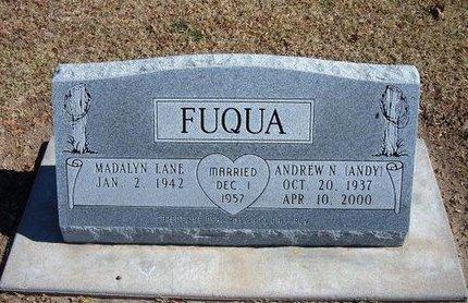"FUQUA, ANDREW N ""ANDY"" - Stevens County, Kansas | ANDREW N ""ANDY"" FUQUA - Kansas Gravestone Photos"