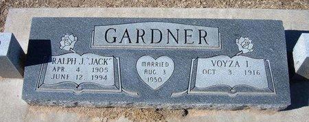 """GARDNER, RALPH J """"JACK"""" - Stevens County, Kansas   RALPH J """"JACK"""" GARDNER - Kansas Gravestone Photos"""