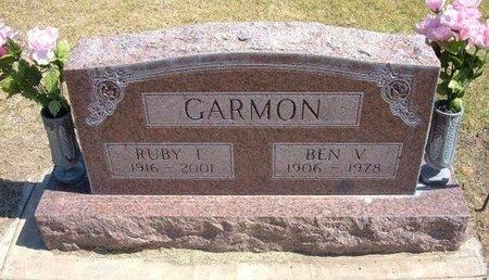 GARMON, RUBY I - Stevens County, Kansas | RUBY I GARMON - Kansas Gravestone Photos