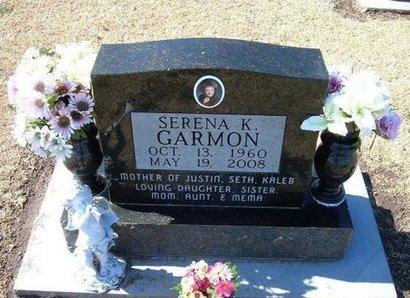 GARMON, SERENA K - Stevens County, Kansas | SERENA K GARMON - Kansas Gravestone Photos