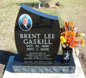 GASKILL, BRENT LEE - Stevens County, Kansas | BRENT LEE GASKILL - Kansas Gravestone Photos