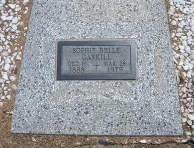 OLSON GASKILL, SOPHIE BELLE - Stevens County, Kansas | SOPHIE BELLE OLSON GASKILL - Kansas Gravestone Photos