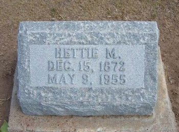 GERROND, HETTIE M - Stevens County, Kansas | HETTIE M GERROND - Kansas Gravestone Photos