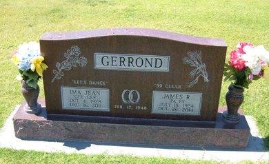 RIGGS GERROND, IMA JEAN - Stevens County, Kansas | IMA JEAN RIGGS GERROND - Kansas Gravestone Photos