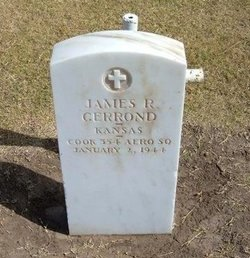 GERROND, JAMES R  (VETERAN WWI) - Stevens County, Kansas | JAMES R  (VETERAN WWI) GERROND - Kansas Gravestone Photos