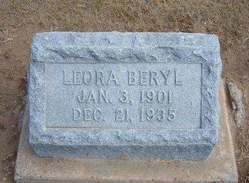 GERROND, LEORA BERYL - Stevens County, Kansas | LEORA BERYL GERROND - Kansas Gravestone Photos