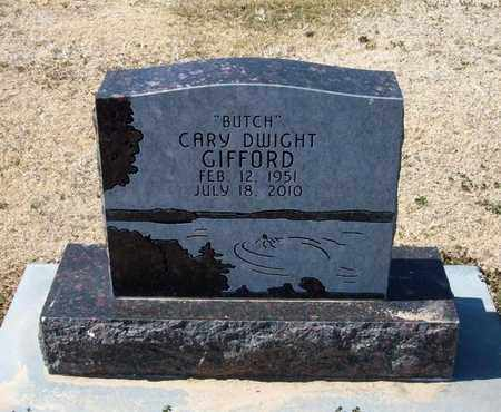 GIFFORD, CARY DWIGHT - Stevens County, Kansas | CARY DWIGHT GIFFORD - Kansas Gravestone Photos