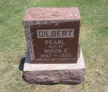 GILBERT, PEARL - Stevens County, Kansas   PEARL GILBERT - Kansas Gravestone Photos