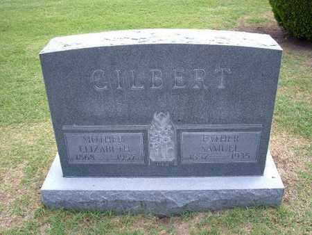 "GILBERT, ELIZABETH ""LIZZIE"" - Stevens County, Kansas | ELIZABETH ""LIZZIE"" GILBERT - Kansas Gravestone Photos"