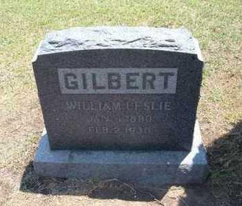 GILBERT, WILLIAM LESLIE - Stevens County, Kansas | WILLIAM LESLIE GILBERT - Kansas Gravestone Photos