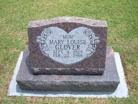 RAGAN GLOVER, MARY LOUISE - Stevens County, Kansas | MARY LOUISE RAGAN GLOVER - Kansas Gravestone Photos