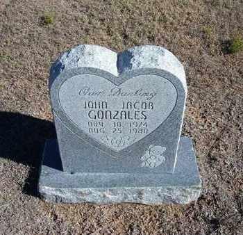 GONZALES, JOHN JACOB - Stevens County, Kansas   JOHN JACOB GONZALES - Kansas Gravestone Photos