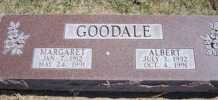 GOODALE, ALBERT - Stevens County, Kansas | ALBERT GOODALE - Kansas Gravestone Photos