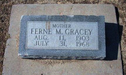 GRACEY, FERN MAE - Stevens County, Kansas | FERN MAE GRACEY - Kansas Gravestone Photos