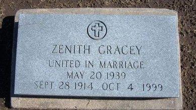 MCCORT GRACEY, LELIA ZENITH - Stevens County, Kansas | LELIA ZENITH MCCORT GRACEY - Kansas Gravestone Photos