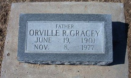 GRACEY, ORVILLE ROSCOE - Stevens County, Kansas | ORVILLE ROSCOE GRACEY - Kansas Gravestone Photos