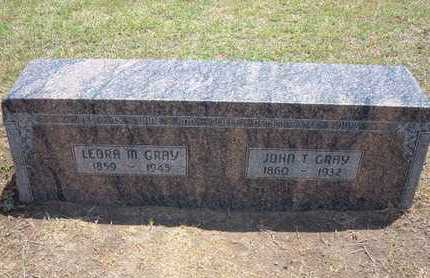 GRAY, LEORA M - Stevens County, Kansas | LEORA M GRAY - Kansas Gravestone Photos