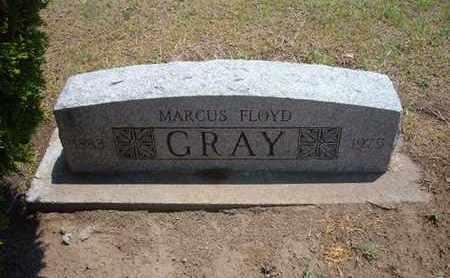 GRAY, MARCUS FLOYD - Stevens County, Kansas   MARCUS FLOYD GRAY - Kansas Gravestone Photos