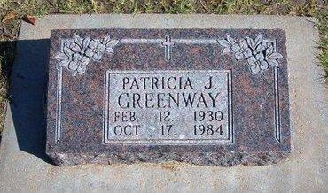GREENWAY, PATRICIA J - Stevens County, Kansas | PATRICIA J GREENWAY - Kansas Gravestone Photos